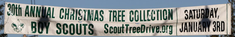 Boy Scout Annual Christmas Tree Collection